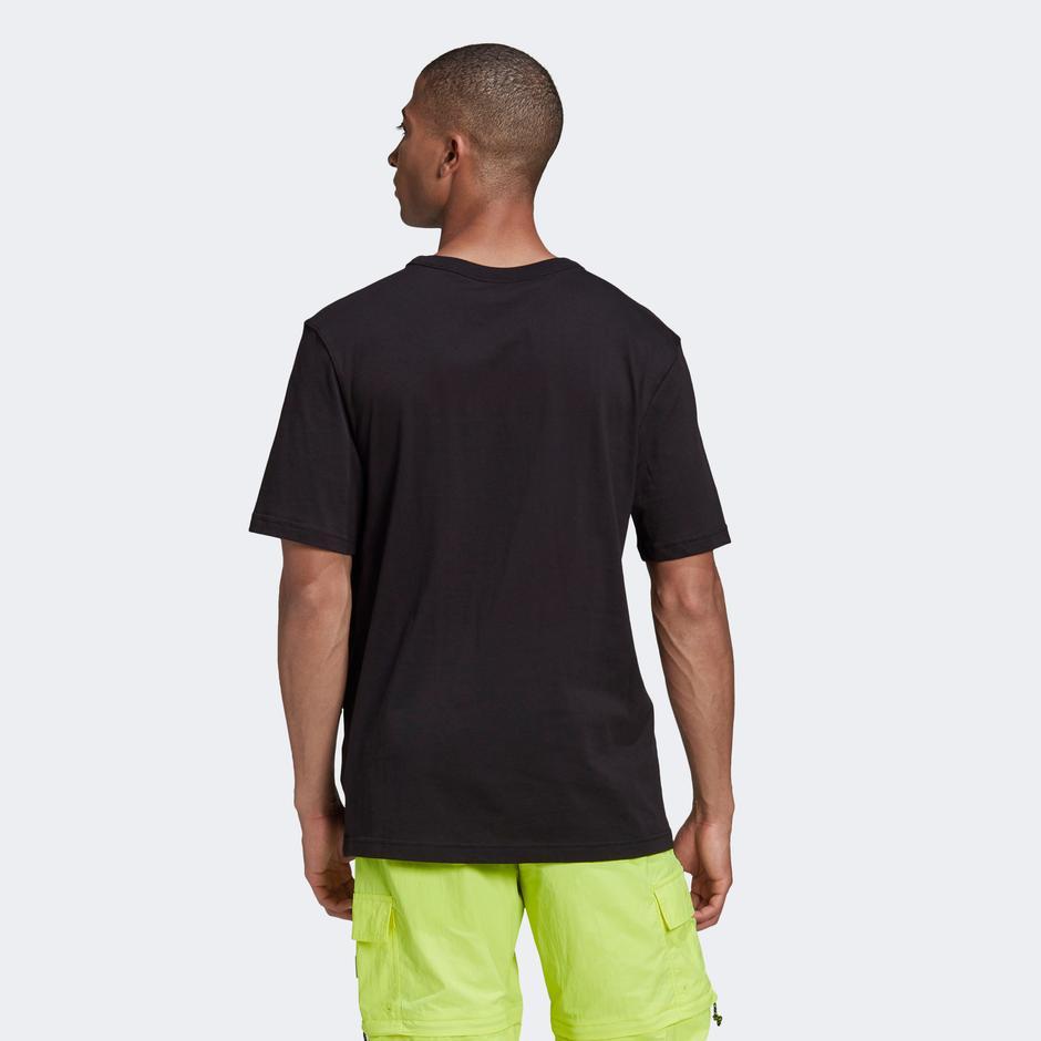 adidas R.Y.V. Silicone Badge Siyah T-Shirt
