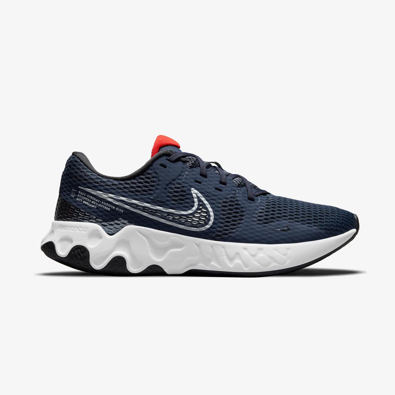 Nike Renew Ride 2 Erkek Mavi Spor Ayakkabı